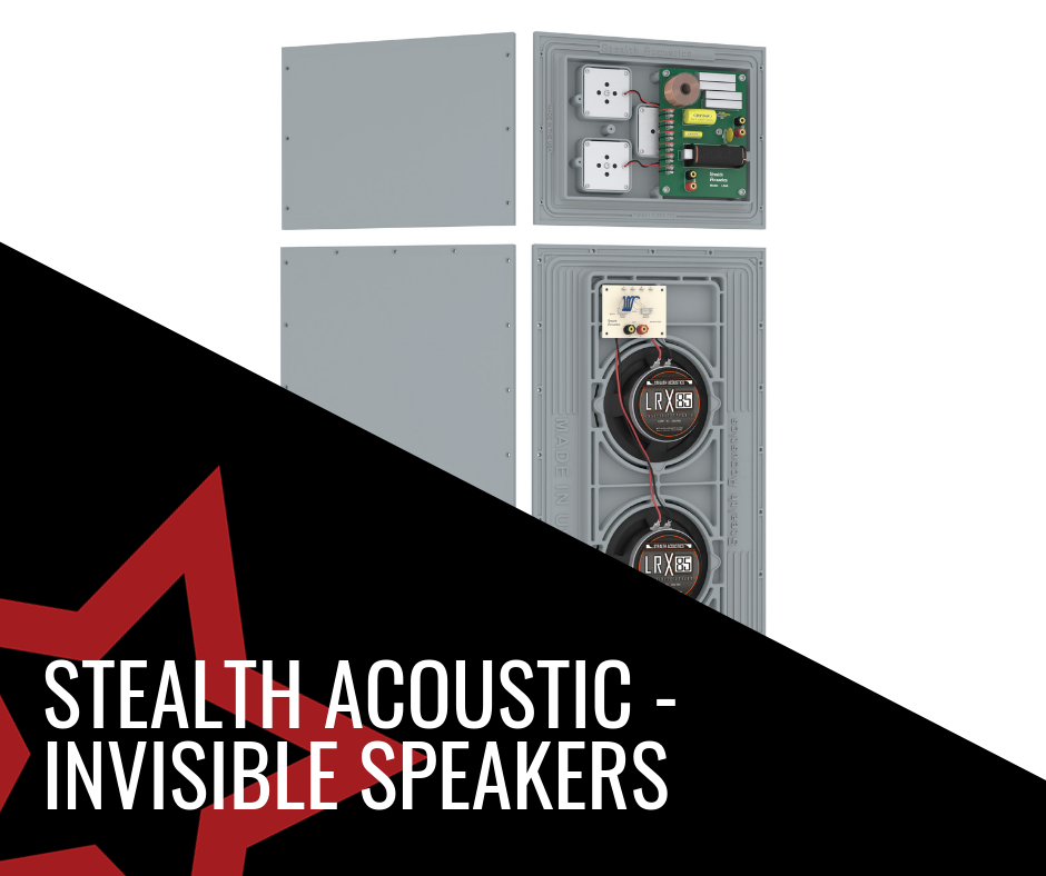 Stealth Acoustics - Invisible Speakers