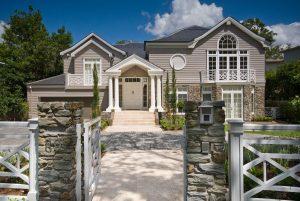 Hamptons Style Residence Facade