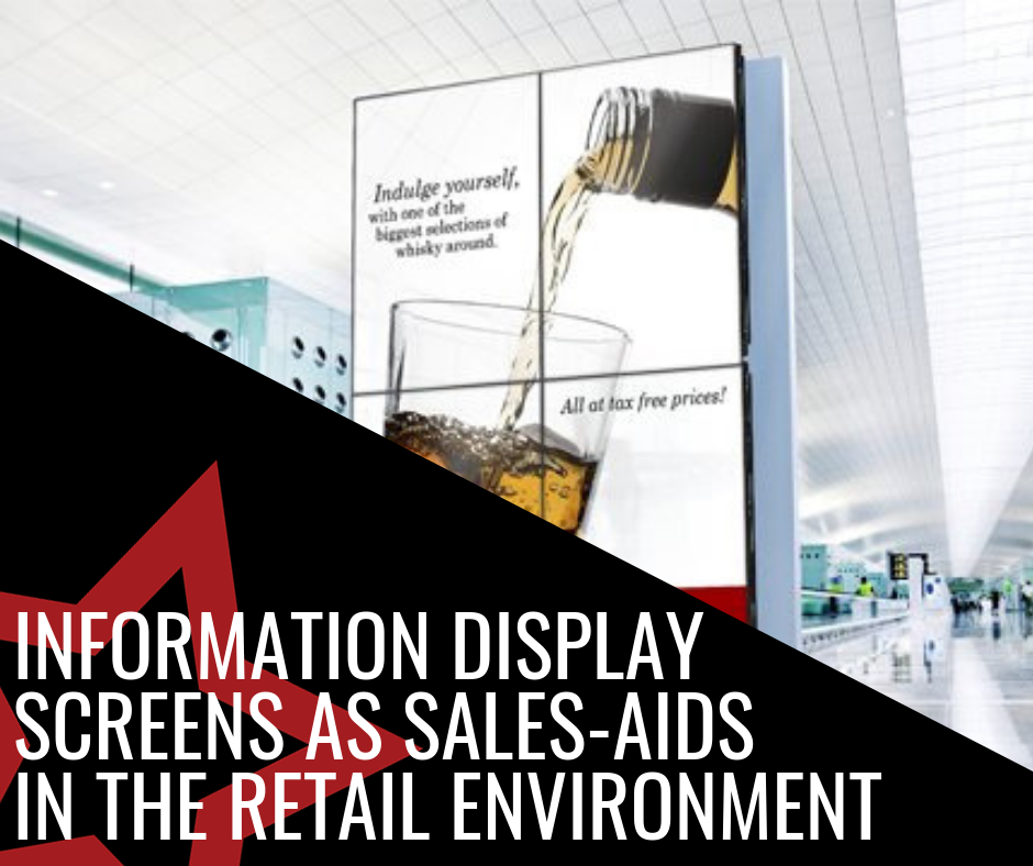 Information Display Screens As Sales Aids In The Retail Environment