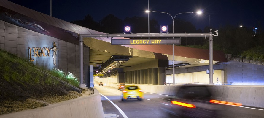 Legacy Way tunnel