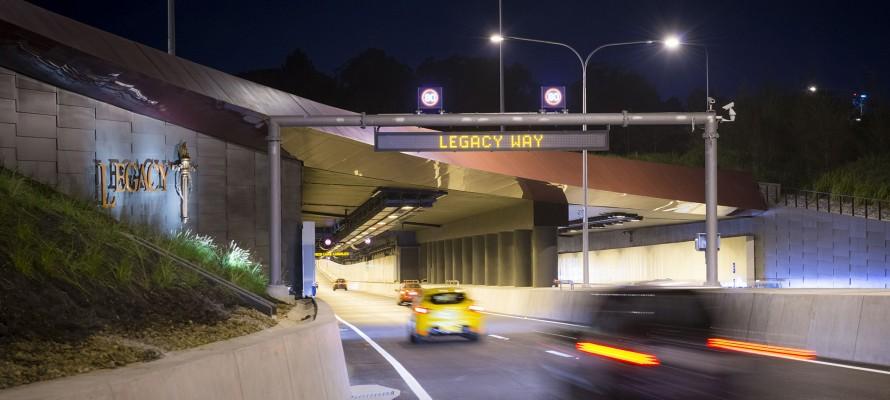 Legacy Way tunnel