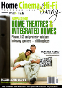 Home Cinema andHiFi yearbook 2008 cover