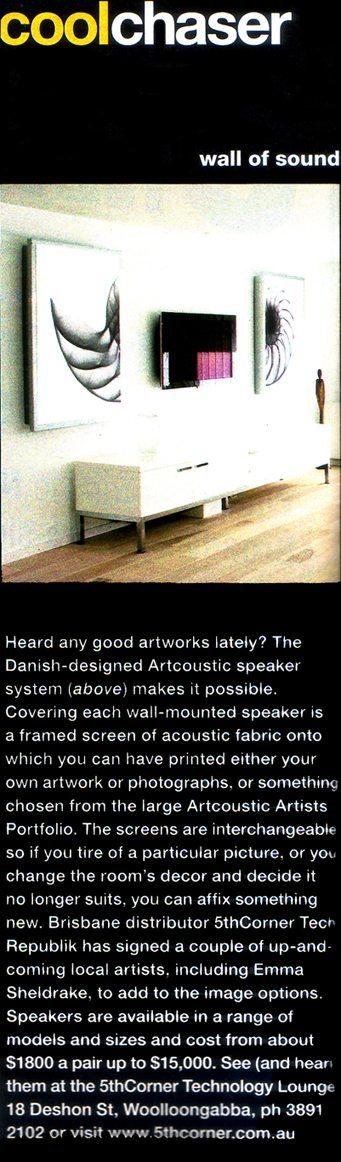 Artcoustic feature Spot